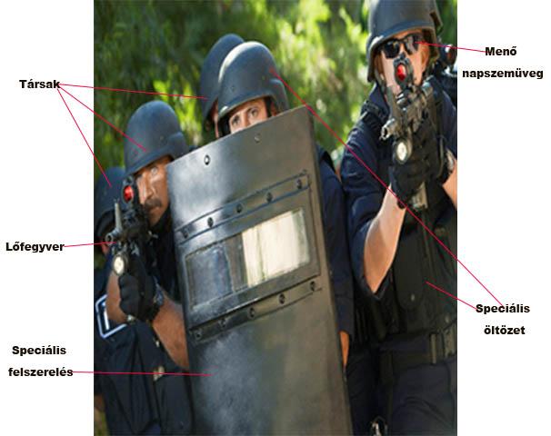 S.W.A.T. rendvédelmi egység