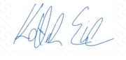 Kottek Erik aláírás